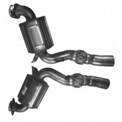 Catalyseur pour BMW 525d 2.5 (E61) Turbo Diesel Touring (moteur : M57N - pour véhicules sans FAP EU3)