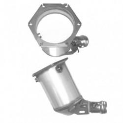 Filtre à particules (FAP) pour MERCEDES C200 2.1 S203 (moteur : OM 646.962) CDi Break (pour véhicules avec volant à gauche)