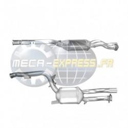 Filtre à particules (FAP) pour MERCEDES CLS320 3.0 (C219) CDi (moteur : OM642) pour véhicules avec volant à gauche