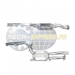 Filtre à particules (FAP) pour MERCEDES E280 3.0 (S211) CDi Break (moteur : OM642) pour véhicules avec volant à gauche
