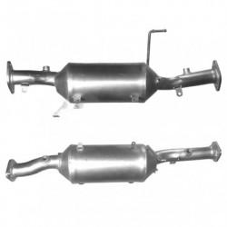 Filtre à particules (FAP) pour MITSUBISHI SHOGUN 3.2 DI-D Turbo Diesel (moteur : 4M41 - Euro 4)