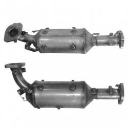 Filtre à particules (FAP) pour NISSAN NAVARA 2.5 dCi Turbo Diesel (moteur : D40)