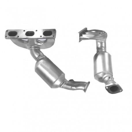 Catalyseur pour BMW 528i 2.8 E39 (moteur : M52 - catalyseur collecteur cylindres 4-6)
