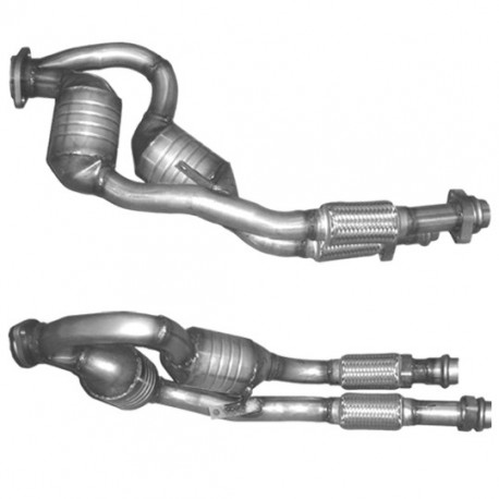 Catalyseur pour BMW 530d 2.9 E39 Turbo Diesel