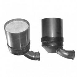 Filtre à particules (FAP) pour PEUGEOT 206 1.6 HDi (moteur : 9HZ (moteur : DV6TED4) - FAP seul)