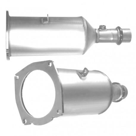 Filtre à particules (FAP) pour PEUGEOT 307 2.0 HDi (moteur : RHS (moteur : DW10ATED) - FAP seul)