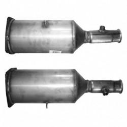 Filtre à particules (FAP) pour PEUGEOT 307 2.0 HDi (moteur : RHR (moteur : DW10BTED4))