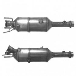 Filtre à particules (FAP) pour PEUGEOT 307 SW 2.0 HDi (moteur : RHS (moteur : DW10ATED) - catalyseur et FAP combinés)