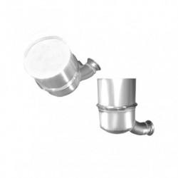 Filtre à particules (FAP) pour PEUGEOT 308 1.6 HDi (moteur : 9HP (moteur : DV6DTED) - FAP seul)