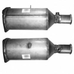 Filtre à particules (FAP) pour PEUGEOT 406 2.0 HDi (moteur : RHS (moteur : DW10ATED))