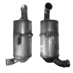 Filtre à particules (FAP) pour PEUGEOT 407 1.6 HDi (moteur : 9HZ (moteur : DV6TED4))