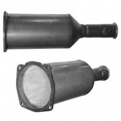 Filtre à particules (FAP) pour PEUGEOT 407 SW 2.2 HDi (moteur : 4HT (moteur : DW12BTED4))