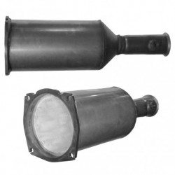 Filtre à particules (FAP) pour PEUGEOT 407 SW 2.7 HDi (moteur : UHZ (moteur : DT17))