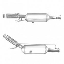 Filtre à particules (FAP) pour PEUGEOT 5008 2.0 HDi (moteur : RHH (moteur : DW10CTED4) - catalyseur et FAP combinés)