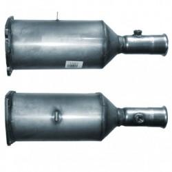 Filtre à particules (FAP) pour PEUGEOT 607 2.0 HDi (moteur : RHZ (moteur : DW10ATED))
