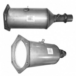 Filtre à particules (FAP) pour PEUGEOT 607 2.2 HDi (moteur : 4HX (moteur : DW12TED4))