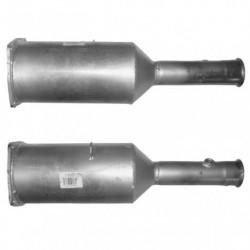 Filtre à particules (FAP) pour PEUGEOT 607 2.7 HDi (moteur : UHZ (moteur : DT17TED4))