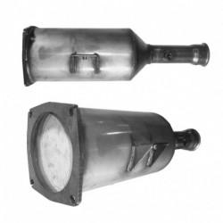 Filtre à particules (FAP) pour PEUGEOT 807 2.0 HDI (moteur : RHM - RHT - RHW (moteur : DW10ATED4))