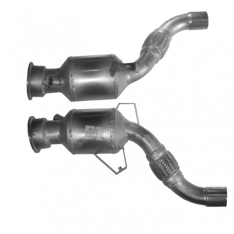 Catalyseur pour BMW 530xd 3.0 E61 Turbo Diesel Break (moteur : M57N2)