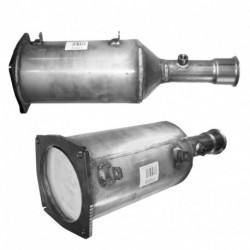 Filtre à particules (FAP) pour PEUGEOT 807 2.2 HDi (moteur : 4HW (moteur : DW12TED4))