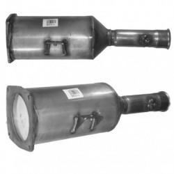 Filtre à particules (FAP) pour PEUGEOT 807 2.2 HDi (moteur : DW12BTED4)
