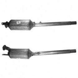 Filtre à particules (FAP) pour RENAULT LAGUNA 2.2 dCi (moteur : G9T600 - 605 - 706 - 707)