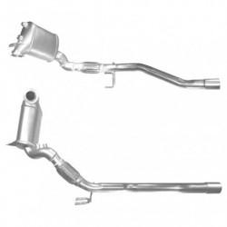 Filtre à particules (FAP) pour SEAT ALTEA 2.0 TDi (moteur : BMN)