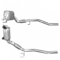 Filtre à particules (FAP) pour SEAT ALTEA 2.0 TDi (moteur : BMM)