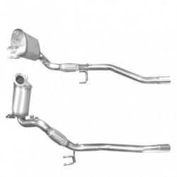 Filtre à particules (FAP) pour SEAT LEON 2.0 TDi (moteur : BMN) pour véhicules avec volant à droite