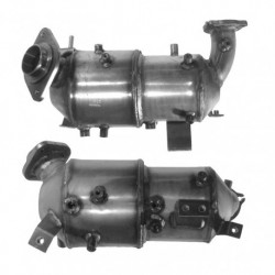 Filtre à particules (FAP) pour TOYOTA COROLLA VERSO 2.2 D-4D (moteur : 2AD-FTV) catalyseur et FAP combinés