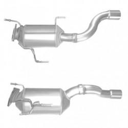 Filtre à particules (FAP) pour VOLKSWAGEN TOUAREG 3.0 TDi Quattro V6 (moteur : CASA - CASB - CASC)