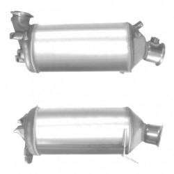 Filtre à particules (FAP) pour VOLKSWAGEN TRANSPORTER 1.9 TDi (moteur : BRS)
