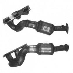 Catalyseur pour BMW 730i 3.0 E66 (moteur : M54 - cylindres 4-6 - pour véhicules avec volant à droite)