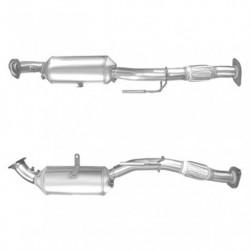 Filtre à particules (FAP) PREMIUM pour DODGE NITRO 2.8 CRD Turbo Diesel (moteur : ENR - ENS - FAP seul)