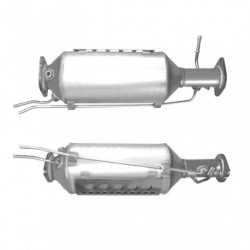 Filtre à particules (FAP) PREMIUM pour FORD FOCUS 2.0 Mk.2 TDCi (moteur : IXDA - version sans additif)