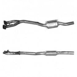 Catalyseur pour PEUGEOT 106 1.5  Diesel (TUD5 - N° de chassis RP08421 et suivants)