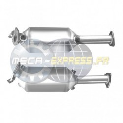 Filtre à particules (FAP) PREMIUM pour HONDA CR-V 2.2 Mk 2 I-CTDI (moteur : N22A2 - FAP seul)