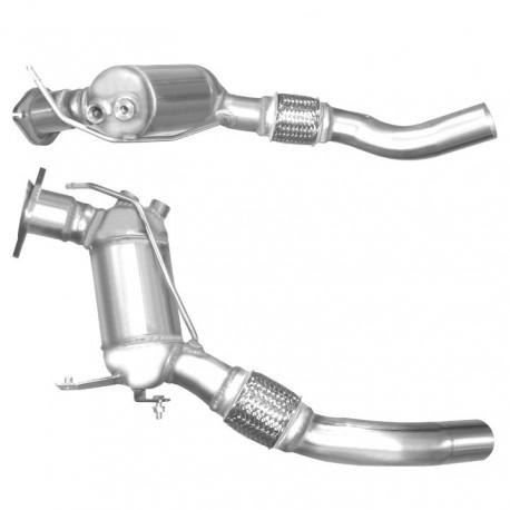 Catalyseur pour BMW X3 2.0 E83 (moteur : M47 - 1er catalyseur)