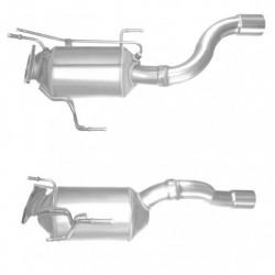 Filtre à particules (FAP) PREMIUM pour VOLKSWAGEN TOUAREG 3.0 TDi Quattro (moteur : BKS - BUN)