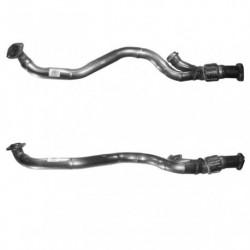 Tuyau d'échappement pour ALFA ROMEO 156 2.5 V6 24v (moteur : AR32401 - Tuyau flexible long)