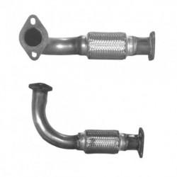 Tuyau d'échappement pour ALFA ROMEO 166 3.0 V6 24v (moteur : AR34301 - AR34302 - coté droit (modèle court))