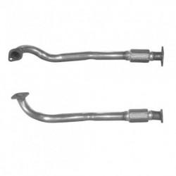 Tuyau d'échappement pour ALFA ROMEO 166 3.0 V6 24v (moteur : AR34301 - AR34302 - coté gauche (modèle long))