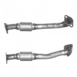 Tuyau d'échappement pour ALFA ROMEO SPIDER 3.0 V6 24v (moteur : AR16101 et AR16102 - Tuyau flexible court)