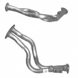 Tuyau d'échappement pour AUDI 80 2.0 8v Boite manuelle (moteur : 3A)