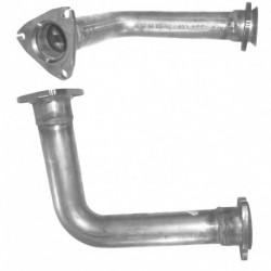 Tuyau d'échappement pour AUDI A6 2.6 Mk.1 V6 Boite manuelle (moteur : ABC) Coté droit