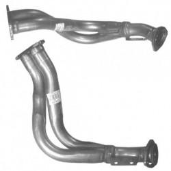 Tuyau d'échappement pour AUDI CABRIOLET 2.0 8v Boite manuelle (moteur : 115cv ABK)