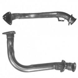 Tuyau d'échappement pour AUDI CABRIOLET 2.6 V6 Boite auto Coté droit (3 boulons coté catalyseur)