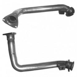 Tuyau d'échappement pour AUDI CABRIOLET 2.6 V6 Boite manuelle Coté droit (3 boulons coté catalyseur)