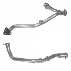 Tuyau d'échappement pour AUDI CABRIOLET 2.6 V6 Boite manuelle Coté gauche (3 boulons coté catalyseur - ABC)