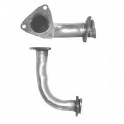 Tuyau d'échappement pour AUDI COUPE 2.6 V6 Boite manuelle (moteur : ABC - Coté droit)